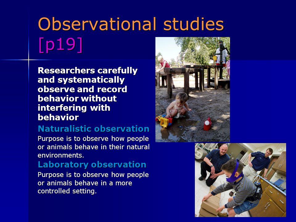 Observational studies [p19]
